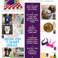Featured Favorites: 3 Yummy Recipes, 2 free crochet patterns and 20 DIY T-shirt projects!