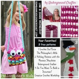 Featured Favorites: 3 Free Crochet Patterns this week!