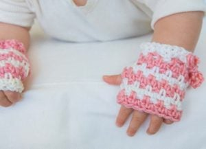 Baby Stuff - Book Review - Leisure Arts - Fingerless Mitts