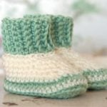 Baby Stuff - Book Review - Leisure Arts - Booties