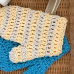 Baby Stuff - Book Review - Leisure Arts - Wash Mitts