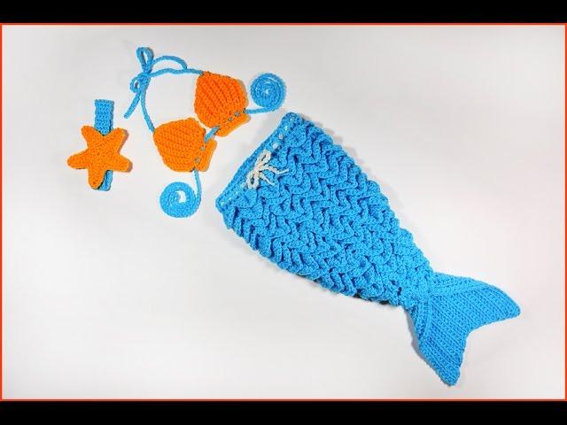 Crochet Mermaid Tail FREE PATTERN - Hooked by Robin mermaid tail ...   480x640