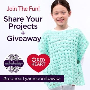 #RedHeartYarnsOombawka