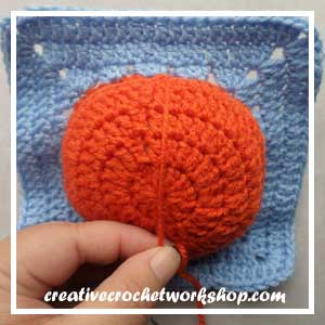 Magic Pumpkin Square Guest Post CCW 9 Oombawka Design Crochet.