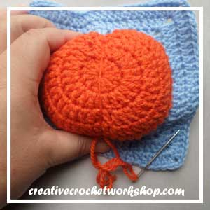 Magic Pumpkin Square Guest Post CCW 10 Oombawka Design Crochet.