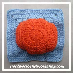 Magic Pumpkin Square Guest Post CCW 14 Oombawka Design Crochet.