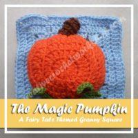 The Magic Pumpkin Afghan Square