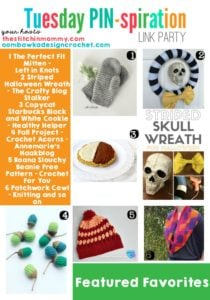 Fall and Winter Projects, Recipes and Free Patterns to Knit and Crochet!