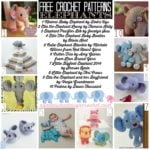 A Score of Free Crochet Elephant Patterns