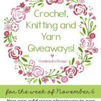 This Week's Yarn Giveaways! November 6-13