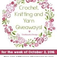 Crochet Giveaway Collection! October 2