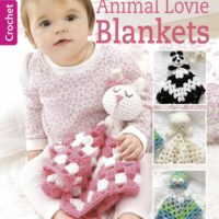 Crochet These Animal Lovie Blankets