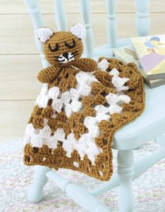 Kitty - Animal Lovie Blankets - Leisure Arts