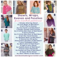Shawls, Wraps, Ruanas and Ponchos