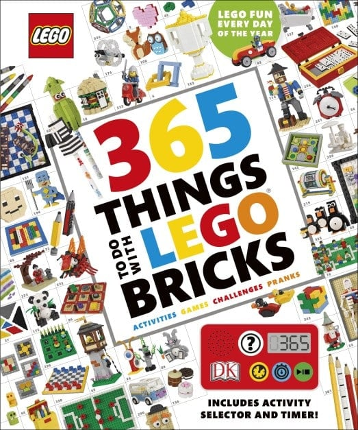 DK Book Review: 365 Things to Do With LEGO Bricks Cover Image
