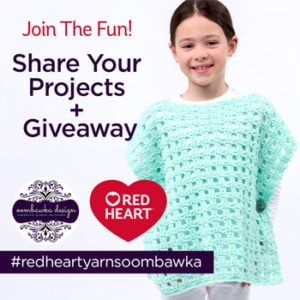 #redheartyarnsoombawka Share Your Projects!