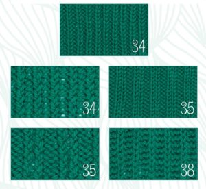 Rib Patterns page 32