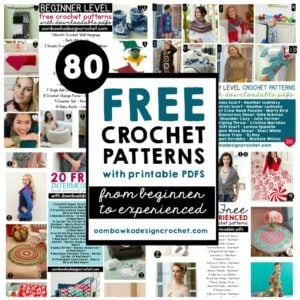 80 Free Printable Crochet Patterns