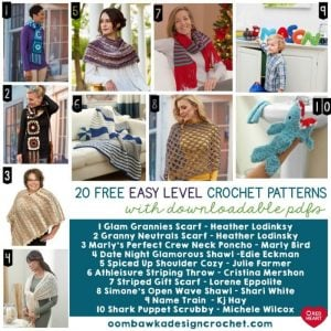 20 Free Easy Level Crochet Patterns