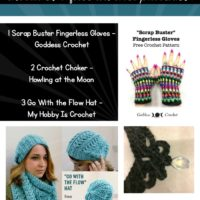 Free Crochet Patterns for You to Make and an Inspiring Crochet Choker