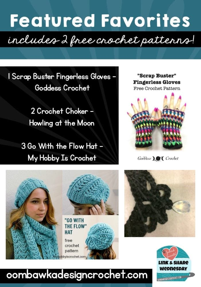 Featured Favorites Link and Share Wednesday Free Crochet patterns