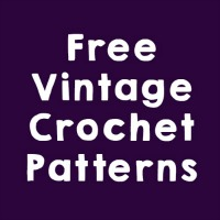 FREE VINTAGE CROCHET PATTERNS ODC