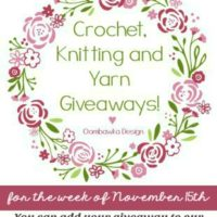 Crochet Giveaways for the Week of November 15th