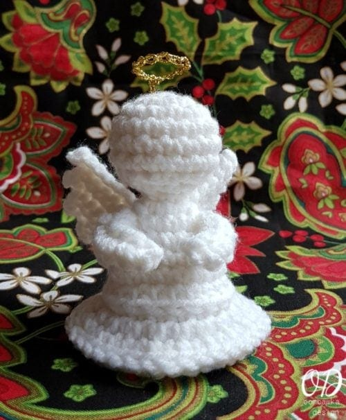 Little Crochet Angel Oombawka Design Crochet