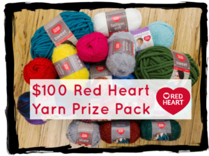 Red Heart Yarn Prize Pack