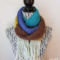 Sinfully Simple Unisex Winter Scarf - Oombawka Design