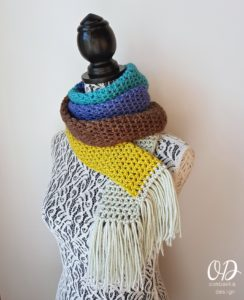 Sinfully Simple Unisex Winter Scarf Pattern