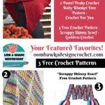 3 Fantastic Free Crochet Patterns