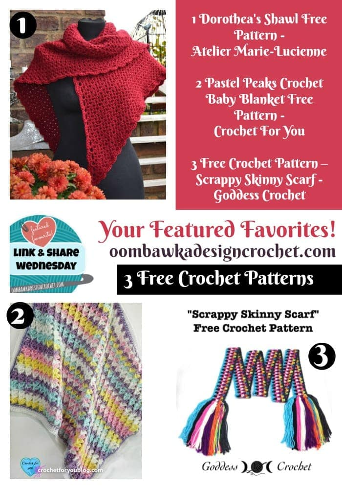 Your Featured Favorites 3 Free Patterns