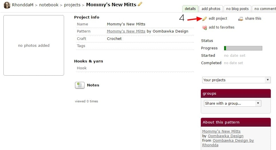 1.2 Ravelry RhonddaM s Mommy s New Mitts