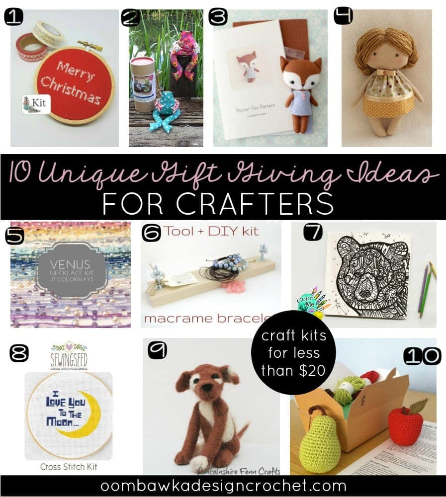 10 Unique Gift Giving Ideas For Crafters for Under 20 Dollars