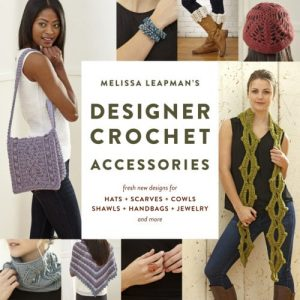 Cover - Melissa Leapmans Designer Crochet Accessories - Book Review - Pattern Excerpt