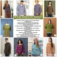 20 Free Patterns for Pullovers