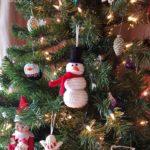 Crochet Snowman Ornament Oombawka Design