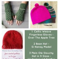 3 Free Crochet Patterns