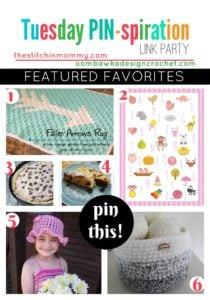 Featured Favorites Tuesday PIN-spiration Link Party
