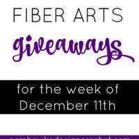 Online Fiber Arts Giveaways