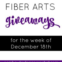 Giveaways for the Week of December 18th