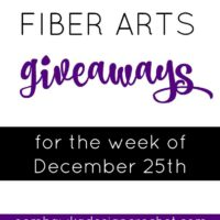 Giveaways for the Week of December 25th