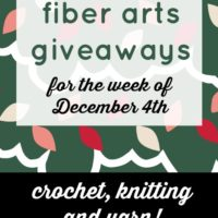 Giveaways for Yarn, Knitting and Crochet