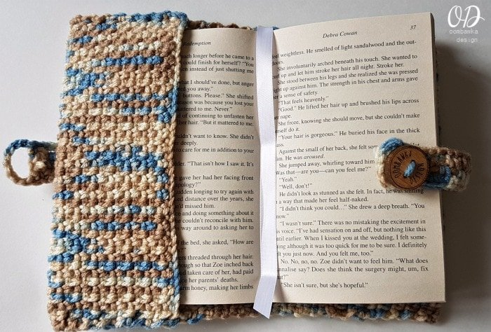 Old Fashioned Paperback Book Cover Page Marker or Bookmark