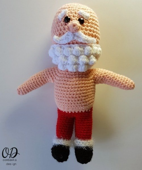 Santa Body with Arms #12WeeksChristmasCAL