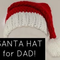 Santa Hat for Dad!