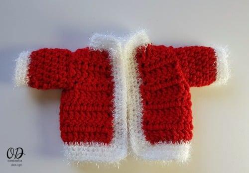 Santas Coat - #12WeeksChristmasCAL