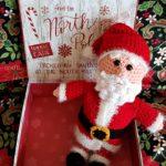 Toy Santa Crochet Pattern: #12WeeksChristmasCAL Week 12