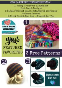 Slouch Hats, Bun Hats, Ponytail Hats and Beanies!